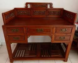 bureau ancien en bois bureau bois massif ancien mzaol com