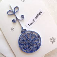 handmade paper quilled card from sayitwithblooms on