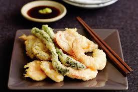 recettes cuisine japonaise tempura la cuisine japonaise recette de la tempura