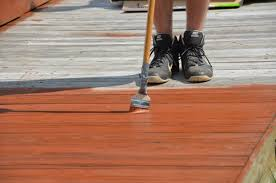 Clean Wall Stains by Clean And Stain A Deck Stevescape