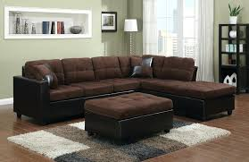 Brown Sectional Sofa With Chaise Reversible Sectional Sofa Chaise Chaise Pine Wood 3 Reversible