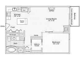 Bedroom Floor Plan The Penfield Apartments Luxury Rentals In Downtown St Paul