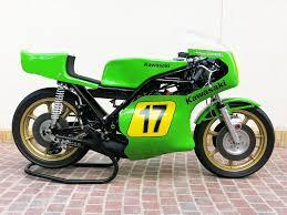 1974 kawasaki 500cc h1 rw grand prix racing motorcycle classic