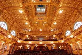 harrogate theatres auditorium view from stage jpg