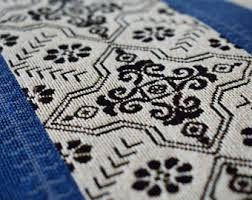 geometric fabric etsy
