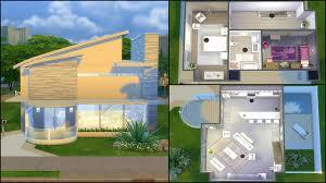 simple modern house sims 4 u2013 modern house