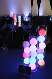 led light table decorations with best 25 centerpieces ideas on