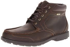 s waterproof boots nz amazon com rockport s waterproof surge toe boot chukka