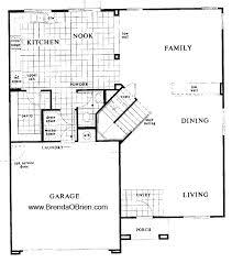 floor plan stairs well suited ideas 8 black horse ranch floor plan