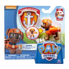 paw patrol action pack pup u0026 badge zuma paw patrol