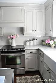 Gray Cabinets With White Countertops 12 Gorgeous And Bright Light Gray Kitchens A Roundup Of