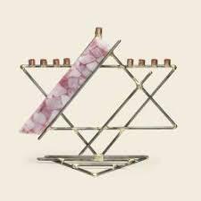 gary rosenthal menorah glass ribbon menorah by gary rosenthal the golden dreidle
