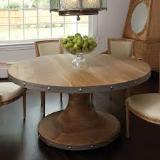 Round White Kitchen Table Iron by Plank Table By Global Views Breakfast Room Tables Pinterest