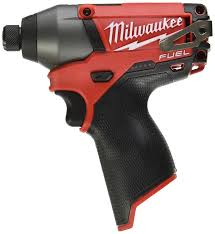 milwaukee 2453 20 m12 fuel 1 4 hex impact driver tool only power