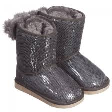 ugg boots sale uk children s billieblush s grey ugg boots minimis clothing