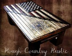 American Flag Bed In A Bag Concealment Tables