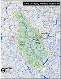 Montana River Map by Maps The Flathead Basin Commission