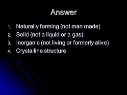 The Way A Mineral Reflects Light Minerals Review Question Silicate Minerals Contain What Two