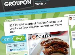 groupon cuisine deal of the day now in with groupon windsoritedotca
