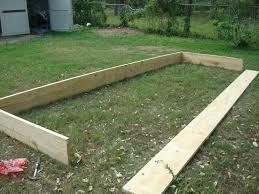 how to build a garden box super easy diy raised garden bed bo