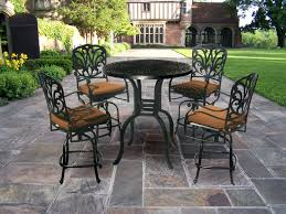 High Bistro Table Patio Ideas High Bistro Patio Set Tall Chair Patio Furniture