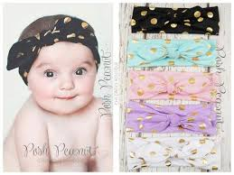polkadot top your color polkadot top knot headwrap poshpeanut