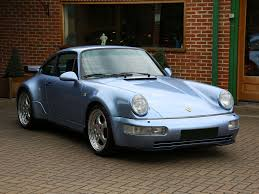 porsche maritime blue collectorscarworld com 1994 porsche 911 type 964 turbo 3 6 rhd