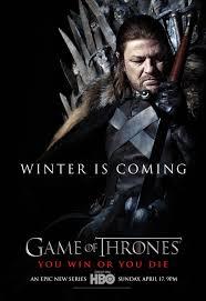 ned stark season 1 character poster game of thrones