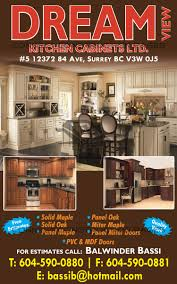 Kitchen Cabinets In Surrey Bc Dream View Kitchen Cabinets Ltd Connect Construction