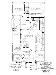 2nd floor house plan river stone cottage house plan house plans by garrell associates