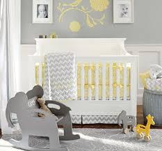 nice modern white grey wall baby nursery trends 2014 design