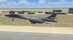 rockwell lancer b 1 bomber edwards afb folding wings youtube