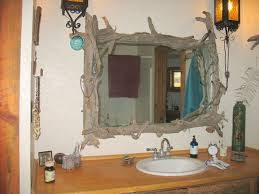 Unique Bathroom Mirror Frame Ideas Impressing Homey Inspiration Unique Bathroom Mirror Frame Ideas On