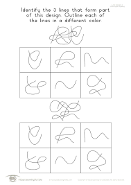 Visual Discrimination Worksheets Designs Individual File Download