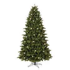 shop ge 7 ft pre lit colorado spruce artificial tree