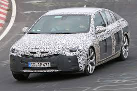 2018 opel insignia wagon vauxhall insignia spy shots big saloon discovers its sleeker side