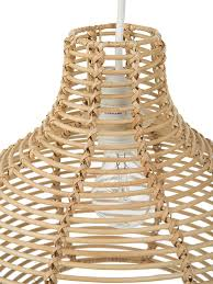 Wicker Light Fixture by Contemporary Pendant Lights Made From Seashells Or Woven Materials