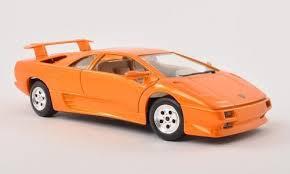 lamborghini diablo orange lamborghini diablo orange 1 24 car model by bburago diecast top