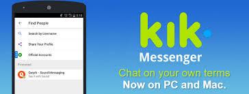 kik messenger apk installer login kik messenger on windows mac and phone