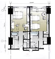 Viceroy Floor Plans by F0f59e845fe52d76c12a32b02cbef125 Jpg 2 166 2 314 пикс Hotel