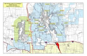 Chicago City Limits Map by Map Room Lindale Edc