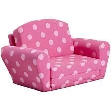 Childs Sofa Chair Furniture Cheerful Custom Polka Dot Kids Sofa Design For Girls