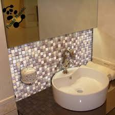 Mb Sms Decorative Bathroom Wall Tile Design Glass Stone Mosaic - Bathroom mosaic tile designs