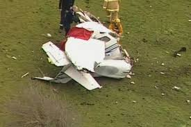rmit student pilot killed as light plane crashes into paddock near