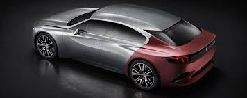 peugeot models by year wow 2014 peugeot exalt concept onyx 4 door gt raw alloy