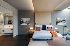 wandfarben ideen schlafzimmer dachgeschoss haus renovierung mit modernem innenarchitektur geräumiges