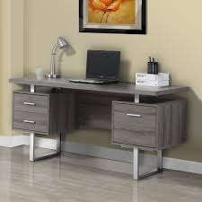 Modern Desks With Drawers Monarch 60 In Office Desk Hayneedle