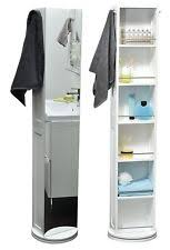 rotating storage cabinet with mirror bathroom mirror cabinets ebay