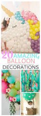 Balloon Decoration Ideas For Birthday Party At Home Best 25 Balloon Ideas Ideas Only On Pinterest Balloon