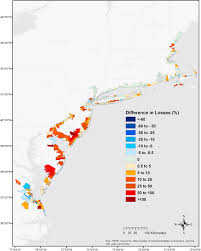 the value of coastal wetlands for flood damage reduction in the